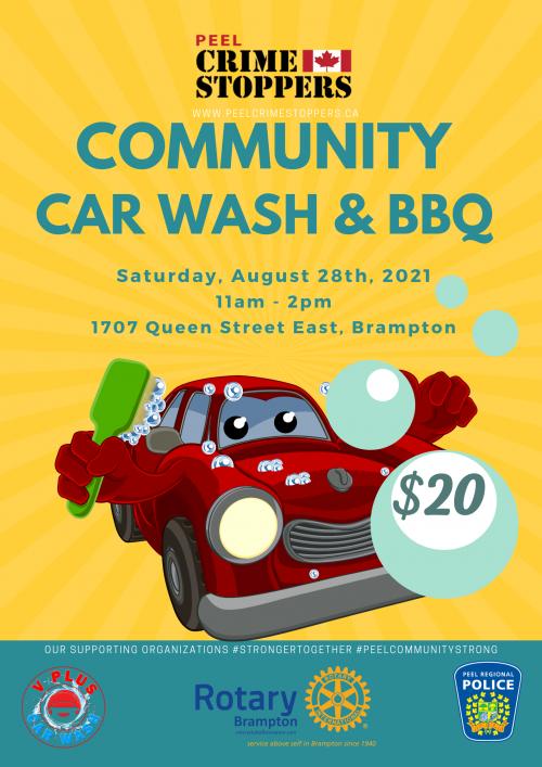 Car Wash & BBQ 08-28-2021